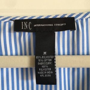 INC International Concepts Tops - Macy's INC Blouse